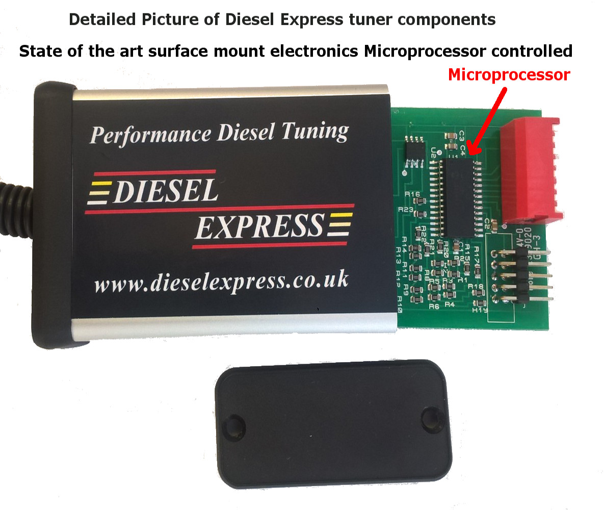Diesel Tuning Performance Economy Chip Box FORD Transit Transit Connect TDCI 2